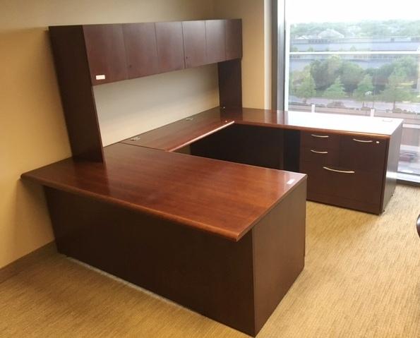Allsteel U Shape Desk