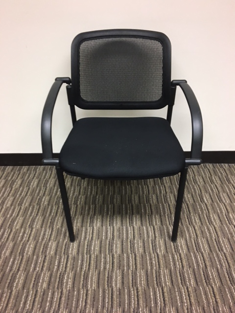 Mesh Back Side Chairs