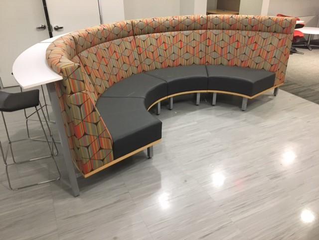 Modular Lounge With Bar Table