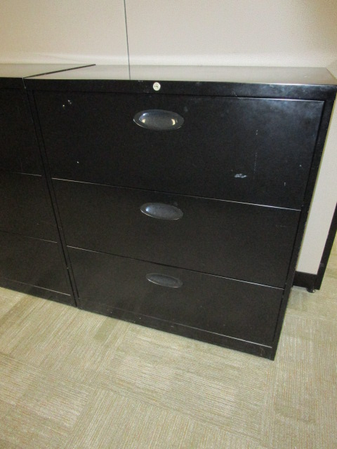 3 Drawer 36″W Laterals
