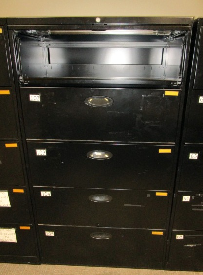 36″W 5 Drawer Lateral